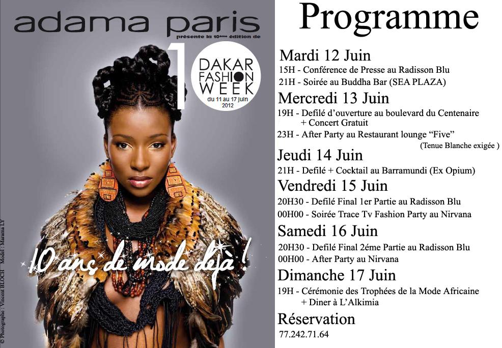 La Dakar Fashion Week fête ses 10 ans !