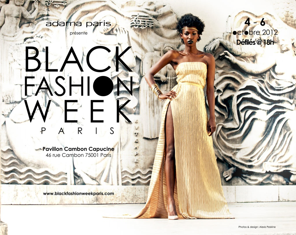 Black Fashion Week Paris du 4 au 6 octobre