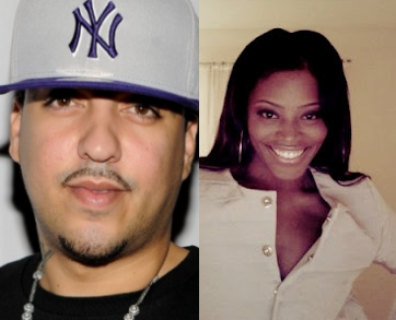 Le rappeur French Montana et sa femme Deen Kharbouch. Le rappeur aurait abandonné sa femme.