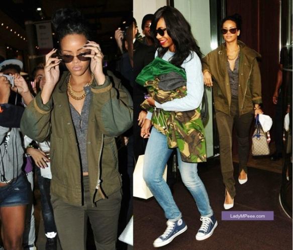 Rihanna venue à Paris pour le concert de Coldplay, crée l'émeute à Gare du Nord