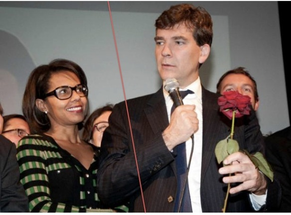Audrey Pulvar Arnaud Montebourg rupture