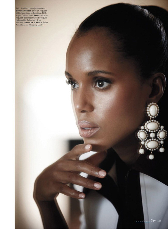 Kerry Washington Elle scandal