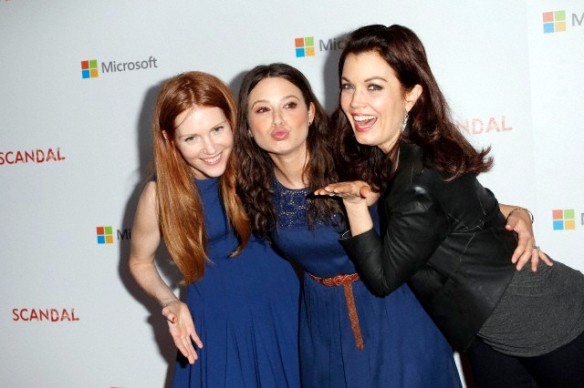 'Scandal' season2 wrap party at the Microsoft Experience in Venice, CA