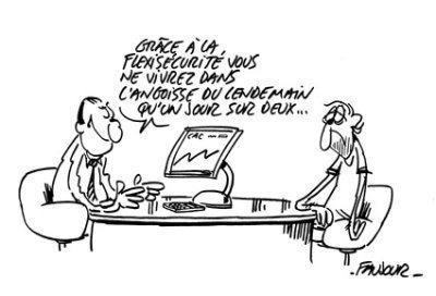 La fin du CDI en France