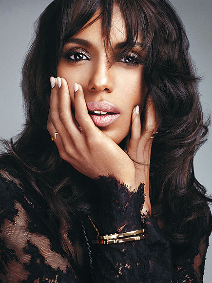 Kerry washington 2e plus belle femme du monde selon le magazine People