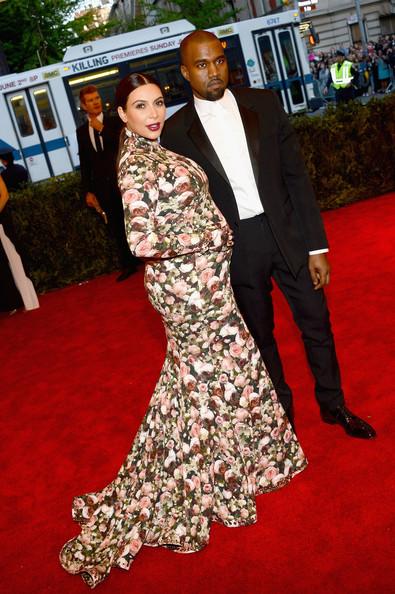 Met ball Kim et Kanye 1