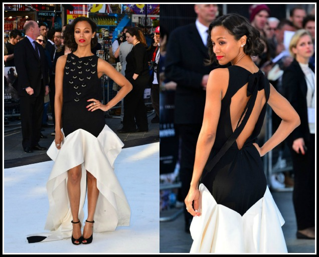 Zoe-Saldana-star-Trek-Into-The-Darkness-London-Premiere-Vionnet-Pre-Fall-2013-Gown-Christian-Louboutin-Rampoldi-Ankle-Strap-Peep-Toe-Pumps-7