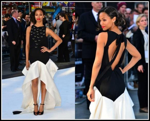 Zoe-Saldana-star-Trek-Into-The-Darkness-London-Premiere-Vionnet-Pre-Fall-2013-Gown-Christian-Louboutin-Rampoldi-Ankle-Strap-Peep-Toe-Pumps-7