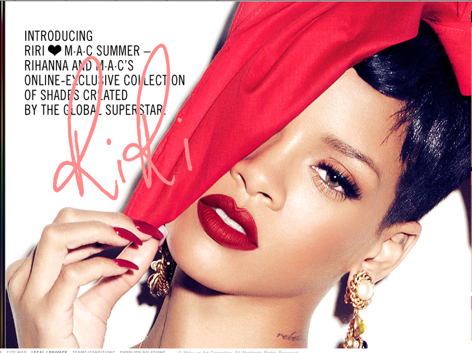 Rihanna collection été pour MAc : Riri hearts MAC Cosmetics