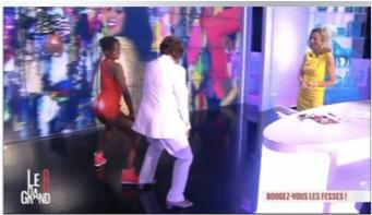 Roselyne Bachelot_Booty Shake_Maïmouna Coulibaly