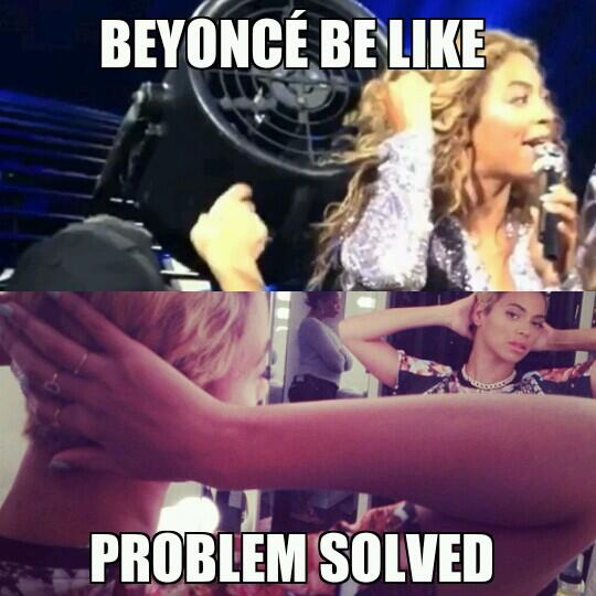 Beyonce-cheveux courts