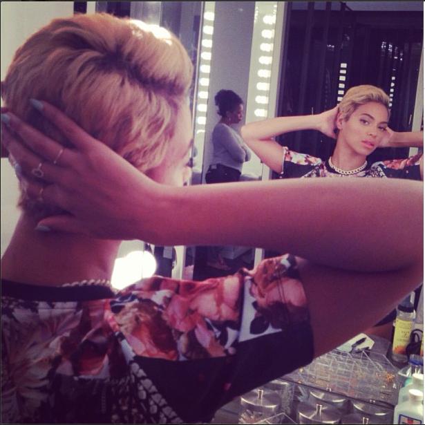 Beyoncé cheveux courts - short hair