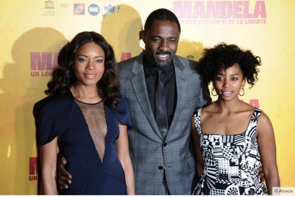 Idris Elba, Naomi Harris, Lindiwe Matshikiza à l'avant-première Mandela à l'Unesco_Ladympeee.com