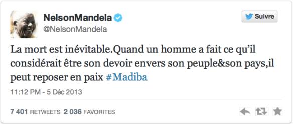 Tweet_Nelson Mandela