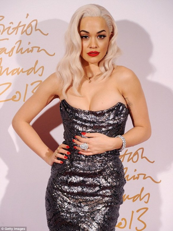 Rita Ora Fifty Shades Of Grey