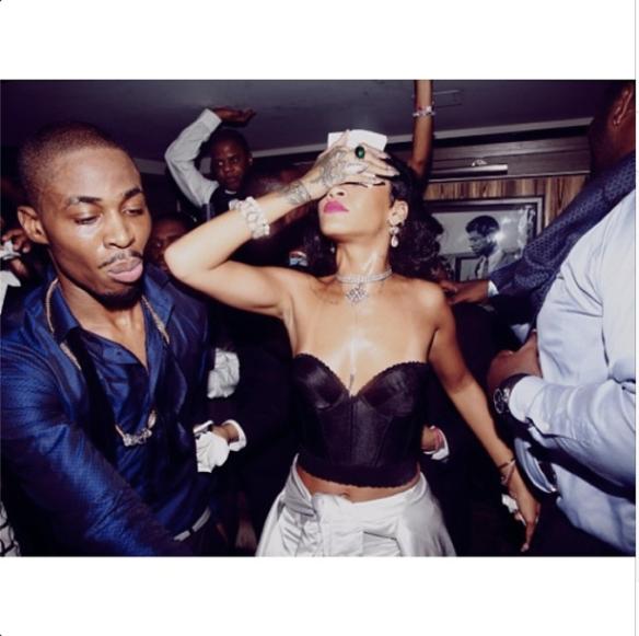 Rihanna NYE 7