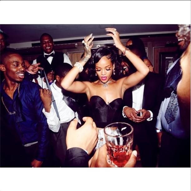 Rihanna NYE 6