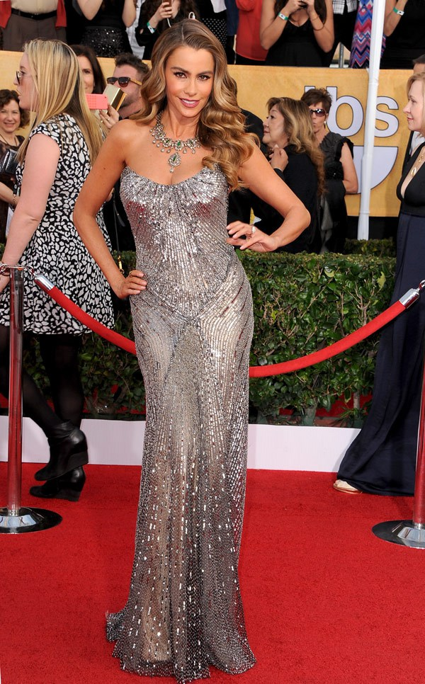 Sofia-Vergara-in-Donna-Karen-Atelier-SAG-Awards-2014