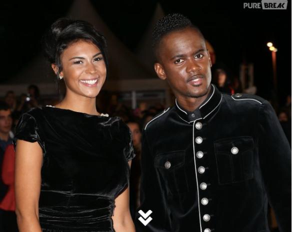 Black M et sa femme aux NRJ Music Awards